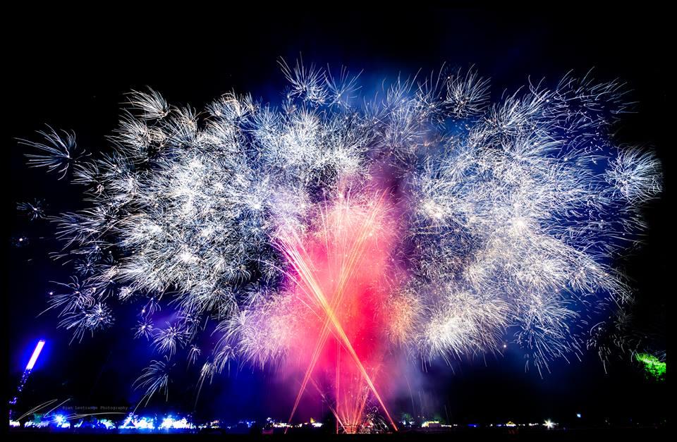 Colmac Homes Fireworks Display